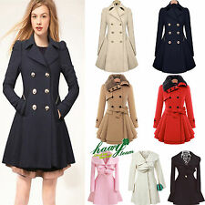 Womens Winter Long Warm Parka Coat Casual Fashion Trench Outwear Jacket Overcoat