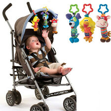 Good Quality Baby Rattle Tinkle Hand Bell Plush Toy Baby Stroller Rattles Toy