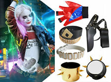 Movie Harley Quinn Suicide Squad Cosplay Costume Complete Halloween Accessories