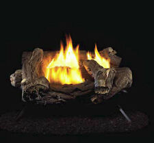 """ProCom Split Hickory Ventless Gas Logs-With Remote-18, 24 or 30"""" Nat Gas Only"""
