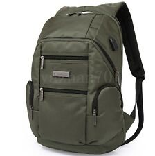 New Men's Nylon Outdoor Backpack Travel Pack Business Laptop Handbag Schoolbag