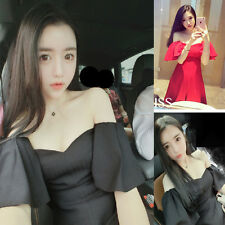 New Fashion sexy women wrapped chest dress Hight waist Cocktail Club Party robe