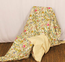 kantha Quilts Indian Bedspread Quilt Handmade cotton Floral Throws Boho Bedding