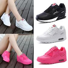 Womens Ladies Lace-up Running Trainers Sports Shoes Casual Walking Sneakers