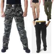 Men's Outdoor Survival Tactical Sports Paratrooper Hiking Camping Pants New