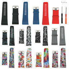 Replacement Watch Band Strap w/Buckle Tool for Fitbit Surge Tracker Wristband GB