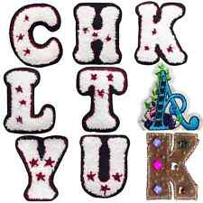 Special Letters - Sew Embroidery Iron On Patch Badge Clothes Fabric Applique