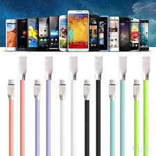 Real Over 2A USB-C 3.1 Type C 3D Diamond Fast Rapid Data Sync Charger Cable Cord