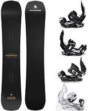 Snowboard Pathron Carbon Gold 2017 + Raven Bindings M, M/L, L or XL - New!