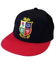 British and Irish Lions Rugby Kids' Snap Back Baseball Cap | 2017 Tour | Black