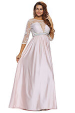 Sleeved Embroidery Silky Long Dress Backless Long Sleeve Stage Dance Wear Ruched
