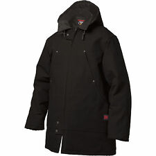 Tough Duck Men's Hydro parka Down Filled Very Warm winter jacket Black
