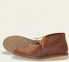 Red Wing  Mens Boots 3322 Chukka Weekender Collection Copper Rough & To..-Brown