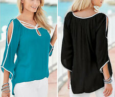 Short Casual Top Ladies Tops Sleeve Fashion Women Summer Blouse Loose T-Shirt
