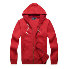 NWT POLO MEN'S CASUAL HOODIES SWEAT HOODED GUARD COATS SKATE SIZE S M L XL XXL