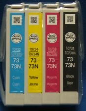 GENUINE EPSON INK CARTRIDGES 73N T0731N TX100 TX101 TX102 TX103 TX105 TX110