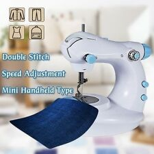 Household Mini Electric Double Stitch Sewing Machine Multifunction Double Speed