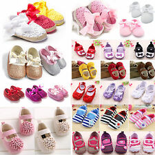 Baby Toddler Kid Girls Princess Crib Shoes Summer Outdoor Sandals Prewalker