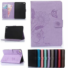 Flip Leather Wallet Card Stand Case Cover For Apple iPad Mini/ iPad Air/ Pro
