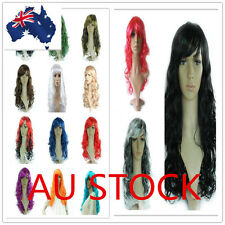 Long Curly Full Wigs Hair Women Fashion Cosplay Hair Fancy Costume Party 50cm
