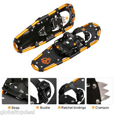 "21"" 25"" 30"" All Terrain Hiking Snow Shoes Men Women Snowshoes w/ Carrying Bag US"