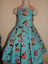 DISNEY MINNIE MOUSE CUSTOM BOUTIQUE DRESS SIZE 2T 3T 4T 5T 5/6 NEW!