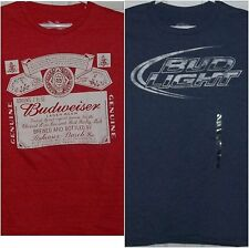 ~ Budweiser & Bud Light T-Shirts - The King of Beers. Multiple sizes  NEW