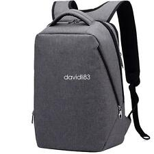 Lightweight Laptop backback waterproof briefcase theftproof School bag 14~17inch