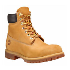 Timberland Boots 10061 Wheat Nubuck 6 Inch Premium Waterproof Men 12909 Junior