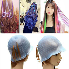 New Professional Silicone Hair Coloring Highlighting Dye Cap Salon Styling Tool