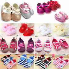 Baby Kid Toddler Prewalker Crib Shoes Girl Princess Summer Sandals Loafers 0-18M