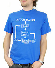 Match Tactics, Pass to Vardy - Funny Leicester City FC Football T-shirt