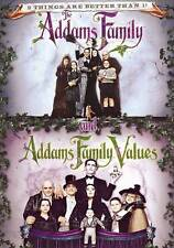 The Addams Family/Addams Family Values (DVD, 2013)Brand New