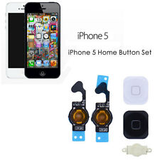 New For iPhone 5 Home Button Flex Ribbon Cable Touch ID Button Sensor Assembly