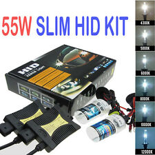 55W HID Xenon Headlight Conversion Light Bulb Kit H1/H3/H4/H7/H11/9006//9 New