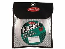 BERKLEY BIG GAME MONO LEADERS CLEAR - 100M -  All Sizes: 100-400 LBS