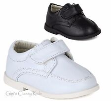 New Baby Toddler Boys White Black Dress Shoes Christening Baptism Suit Tuxedo