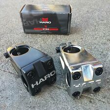 Haro Bmx 1978 Stem Black High Polish 1 1/8 Threadless Bike Stem Gt Dyno Redline