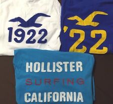 Lot 10 NWT Mens Hollister Abercrombie Long Sleeve Free Priority Ship U Pick Size