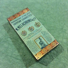 ANTIQUE TOBACCO CIGARETTE TIN  ... 1910  STAMP      GIVE AWAY PRICE!!