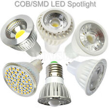 High Power 3W 5W 7W MR16/GU10/E27 COB/SMD LED Spotlight Bulb Lamp AC85-265V/12V