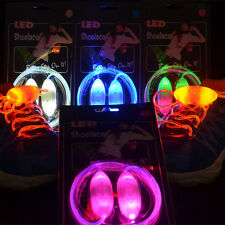 LED Shoelaces Shoe Laces Flash Light Up Glow Stick Strap Shoelaces Disco