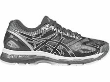 Asics Gel-Nimbus 19 2E Mens Running Shoes Trainer Tenis Silver Grey T701N-9701