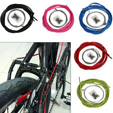 Brake Cable & Lined Housing 23/Kit Red Mountain Bike Road Bicycle & Ferrules New