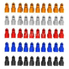 Pack of 10 Rocket Style Alloy Car Wheel Tire Tyre Valve Dust Caps Covers Tire
