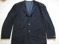 VERSUS GIANNI VERSACE WOOL BLACK JACKET COAT 3 BTN MADE IN ITALY Fits M - L