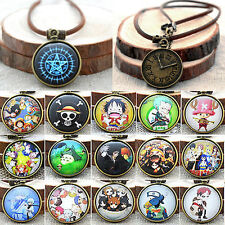 Unisex Retro JP Anime Necklace Cosplay ONE PIECE Ghoul Tokyo Charm Chain Jewelry