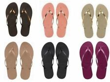 Havaianas Brazil You Metallic Flip Flops Sandals Vary Colors Sizes Brand New
