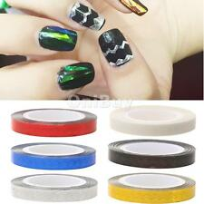 20M Wide Rolls Striping Tape Line Nail Art Tips DIY Nails Decoration Sticker