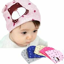 Color Infant Baby Autumn Winter Toddler Beanie Hat Cartoon Dog Warm Cap Cute